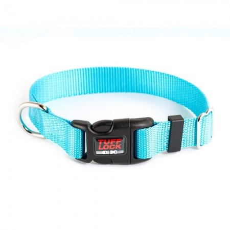 Premium TuffLock - Plastic Buckle Dog Collar - 04001.TURQUOISE.MAIN_resize