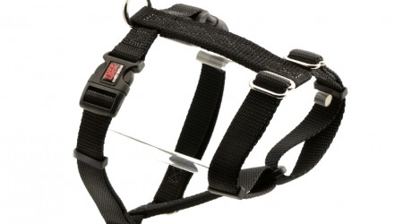 Premium Tuff Lock Cat Harness - black_figure-h_harness