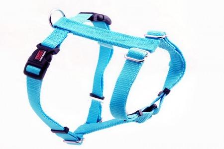 Premium Tuff Lock Harness - turquoise_figure-h_harness
